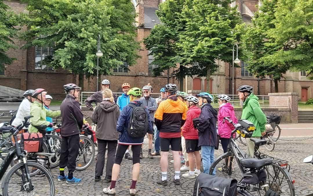 Bericht über die Niederrhein Tour der Radfahrgruppe
